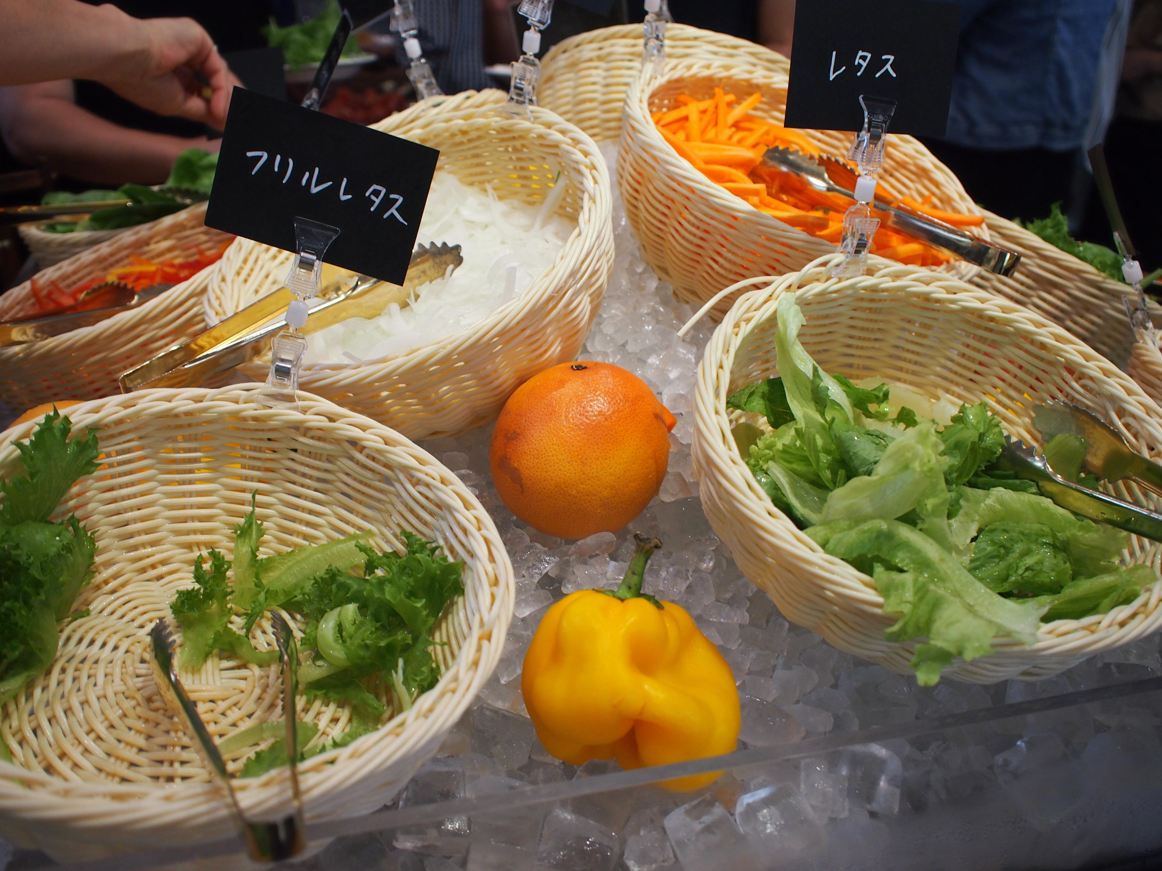 【野菜スタイル】成田の口コミ&メニュー!健農家の直送やさいビュッフェ